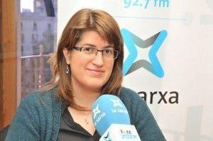 Sandra Llinares a Girona Ara de La Xarxa, amb Eduard Cid