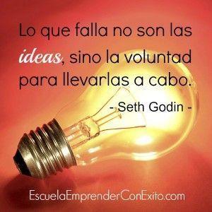 Lo que falla no son las ideas