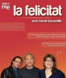 La Felicitat - amb David Escamilla. Tew Bunnag i Sandra Llinares