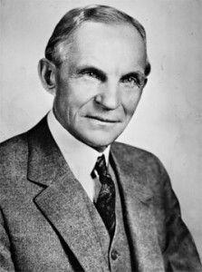 Henry Ford nos da una lección