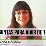 6 preguntas para vivir de tu blog con Lorena Molinero