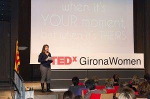 Sandra Llinares at TEDx Girona Women