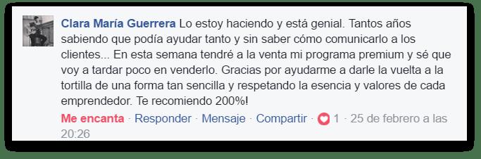 Testimonio Clara Guerrera