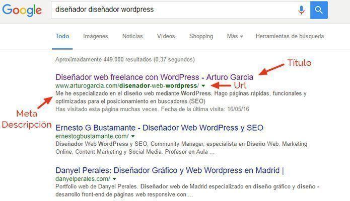 diseñador diseñador wordpress. Buscar con Google
