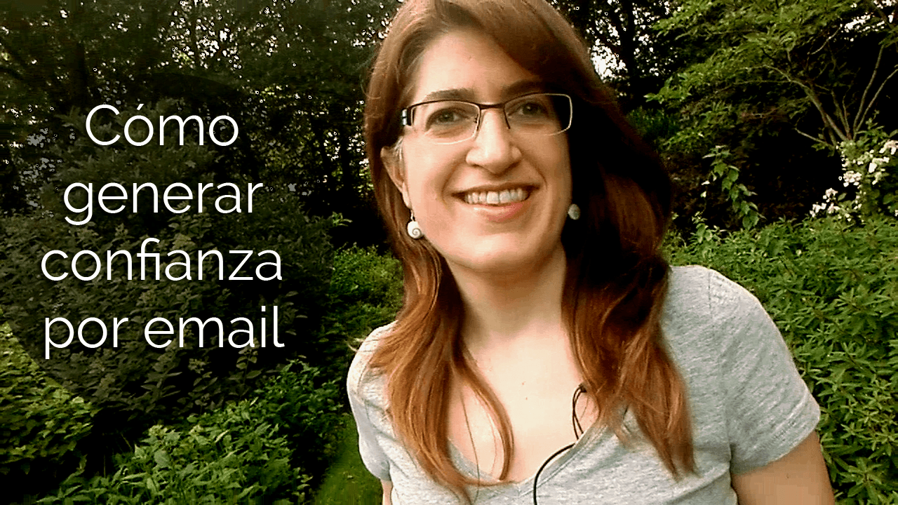 Cómo generar confianza por email